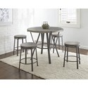 Steve Silver Portland Industrial Counter Stool