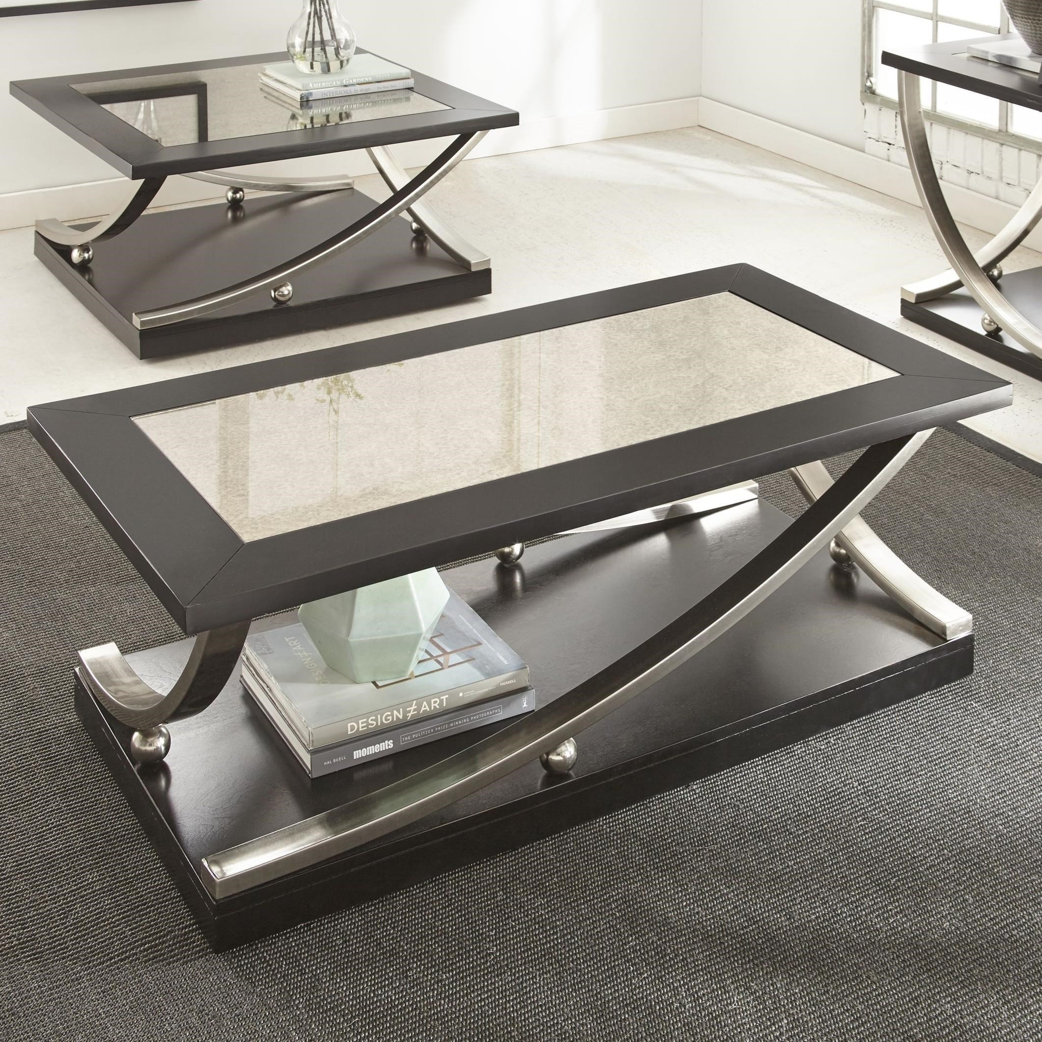 Cocktail Table with Hidden Caster