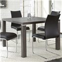 Steve Silver Randall Silver Shield Dining Table - Item Number: RL420B+T