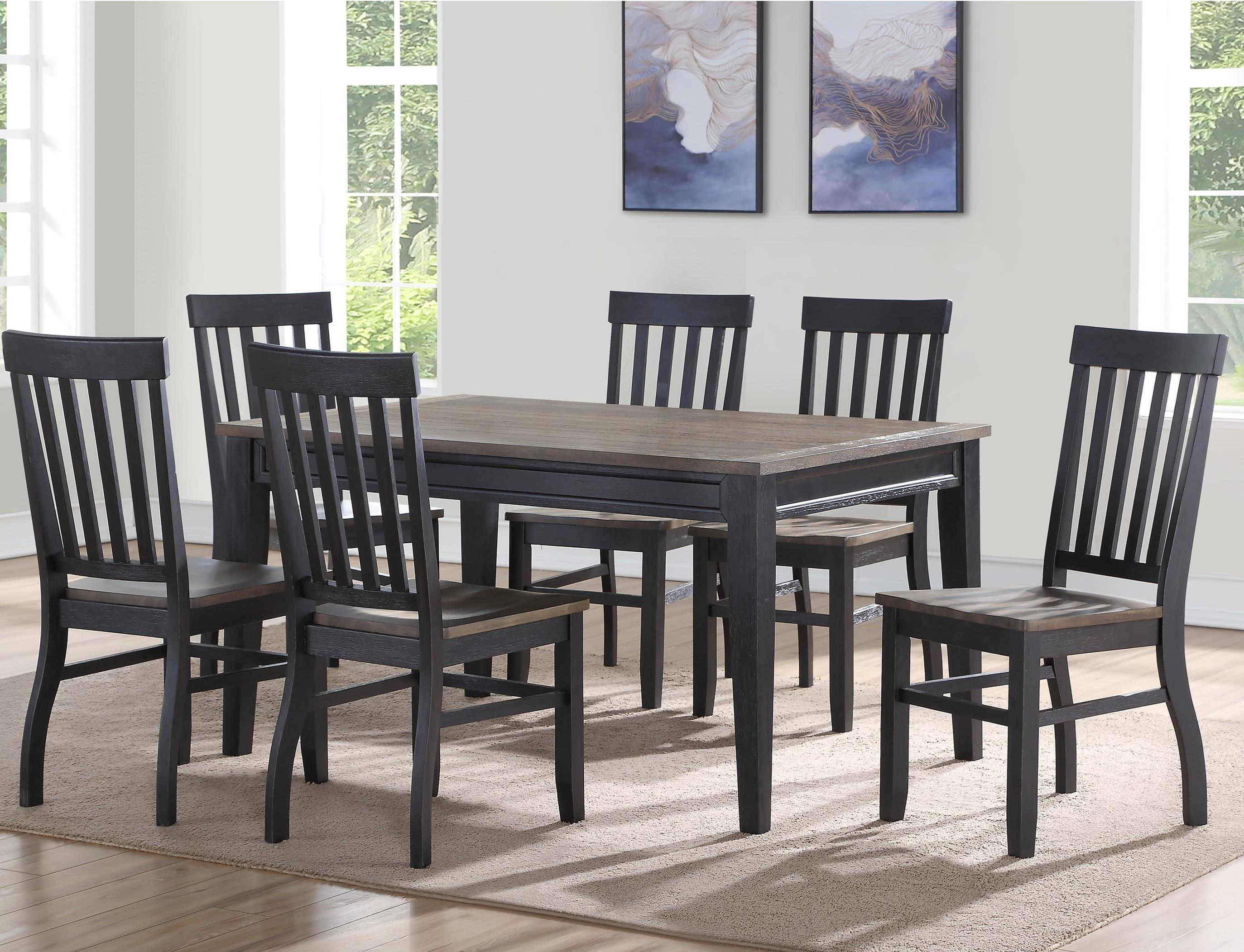 Wayside Dining Room Furniture: Steve Silver Raven Casual Seven Piece Dining Set