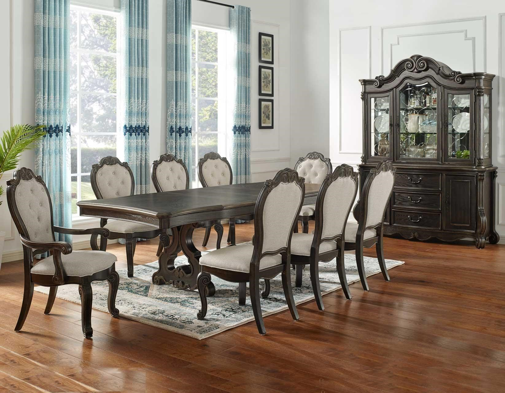 Dining Table with 2 Arm and 4 Side Chairs