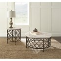 Steve Silver Roland Stone Top End Table