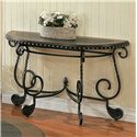 Morris Home Furnishings Rosemont Metal Sofa Table - Item Number: RM200S