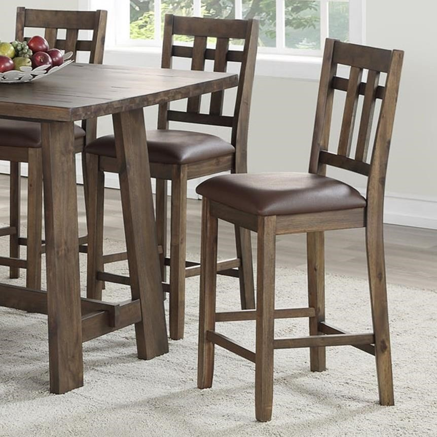 Saranac Counter Height Side Chair by Steve Silver at Darvin Furniture