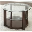 Morris Home Savier Savier Round Cocktail Table - Item Number: 207112311