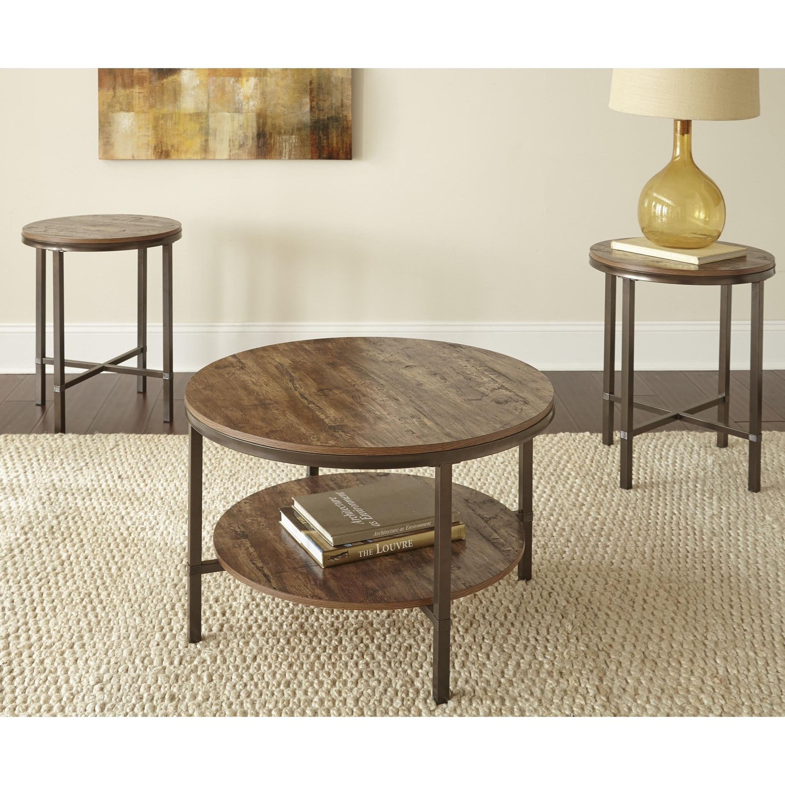 Steve Silver Sedona Se3000a 3 Piece Living Room Table Set Great