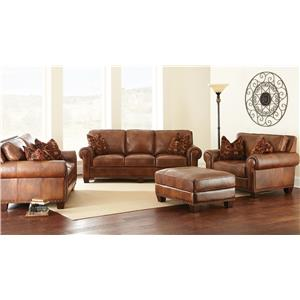 Vendor 3985 Silverado Stationary Living Room Group