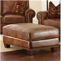Morris Home Furnishings Silverado Traditional Ottoman - Item Number: SR910T