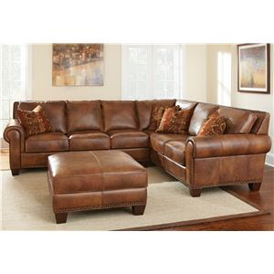 Vendor 3985 Silverado 2 Piece Sectional