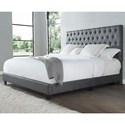 Steve Silver Sophia King Upholstered Bed - Item Number: RE9005SS-142ST