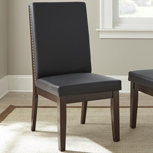 Morris Home Stella Side Chair With Nailhead