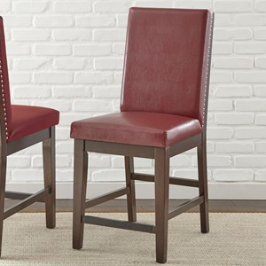Morris Home Stella Counter Chair With Nailhead
