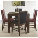 Steve Silver Stella 5 Piece Counter Height Dining Set - Item Number: SL700PT+2x650CCR+2x650CCK