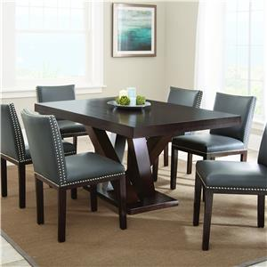 Morris Home Furnishings Tiffany 7 Piece Dining Set