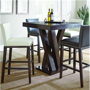 Morris Home Furnishings Tiffany 5 Piece Bar Table Set