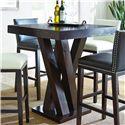 Vendor 3985 Tiffany Bar Table - Item Number: TF600PTN