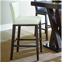 Morris Home Furnishings Tiffany Bar Chair - Item Number: TF650BCBN