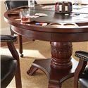 Vendor 3985 Tournament Tournament Round Game Table & Caster Arm Chair Set