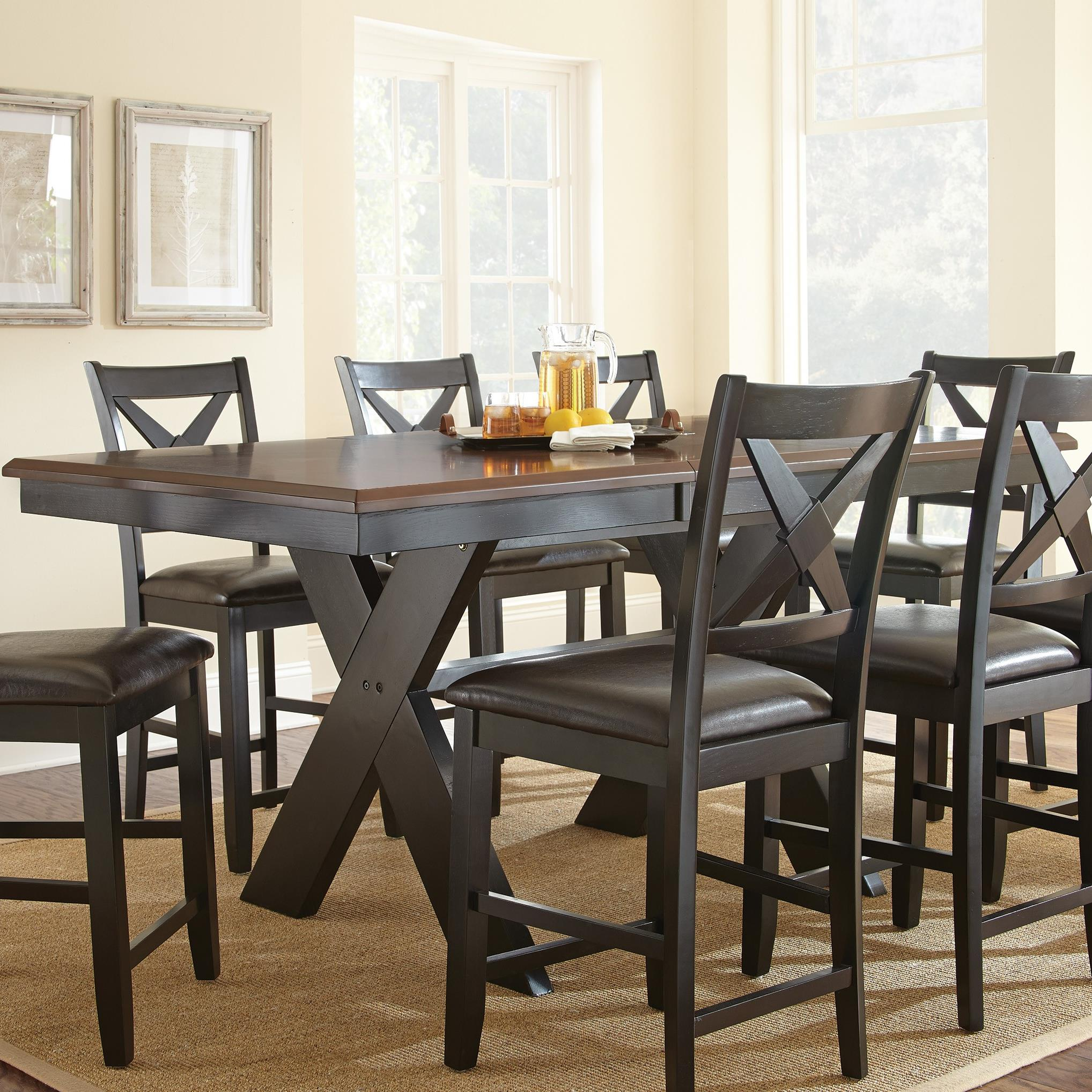 Steve Silver Violante Counter Table - Item Number: VL700PB+T