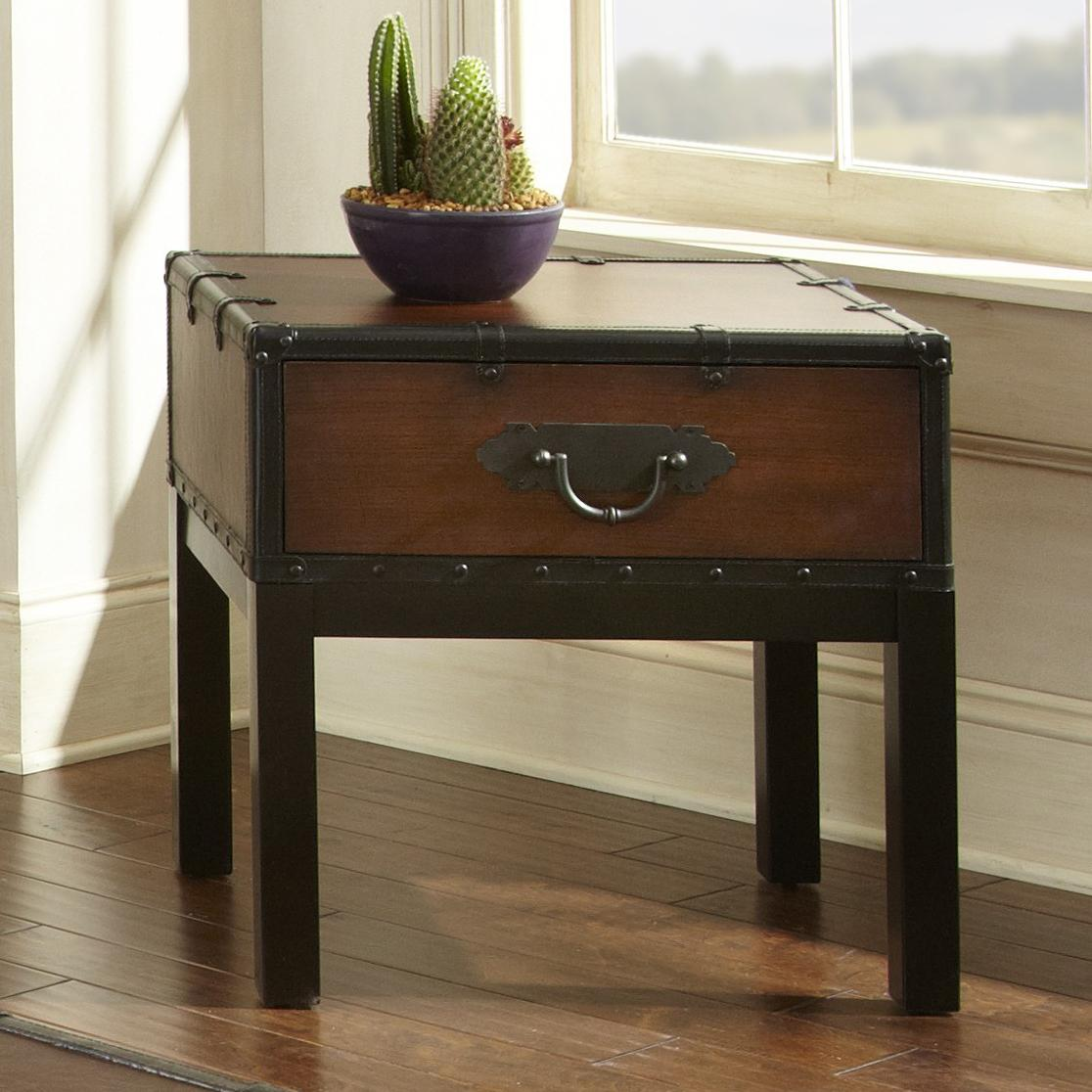Steve Silver Voyage End Table - Item Number: vy200e