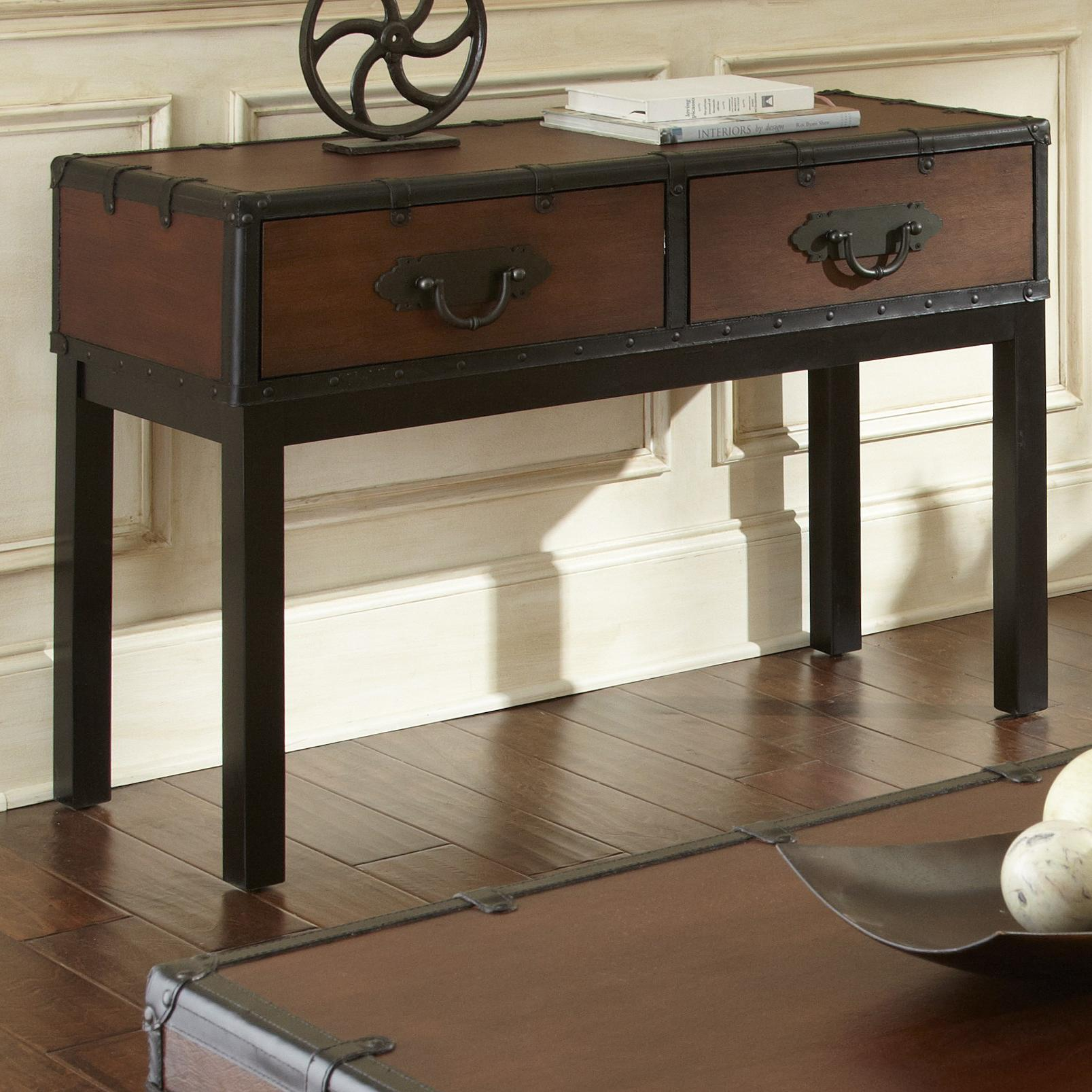 Steve Silver Voyage Sofa Table - Item Number: vy200s
