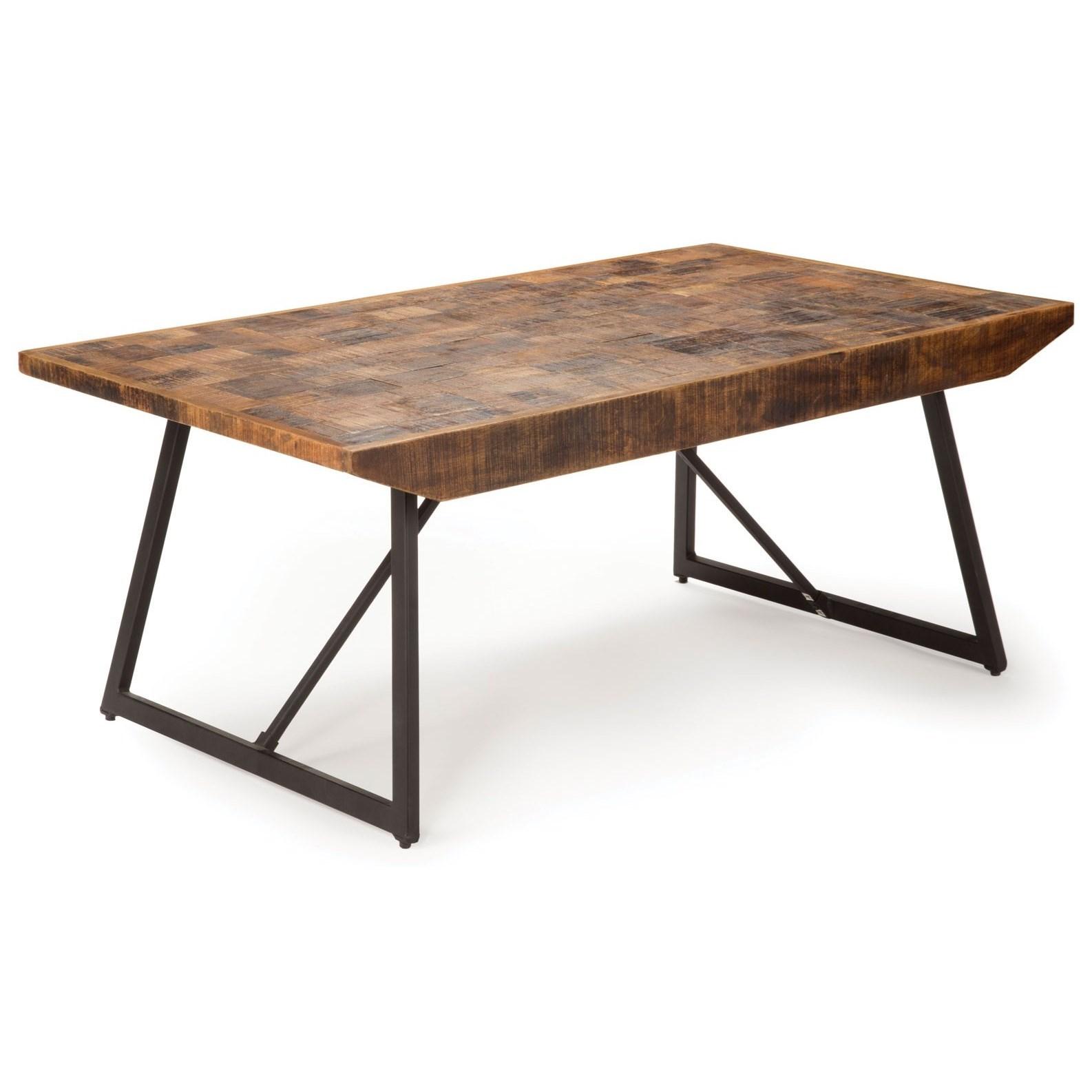 Parquet Cocktail Table