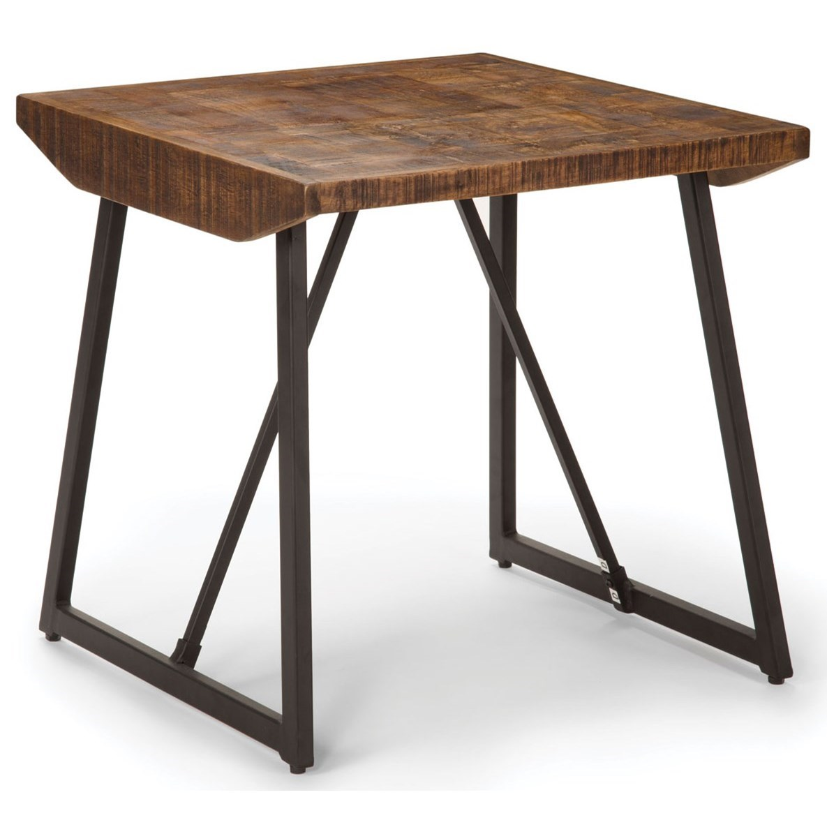 Walden Parquet End Table by Steve Silver at Miller Home