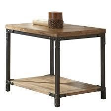 Morris Home Wells Wells End Table