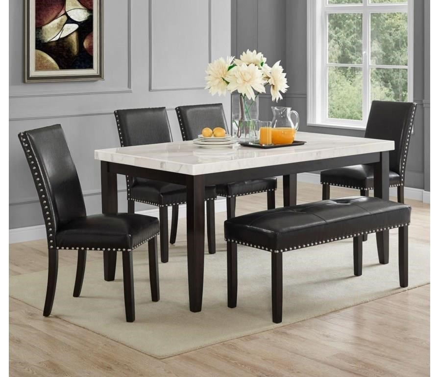 Brinnon Brinnon 5-Piece Dining Set by Steve Silver at Morris Home