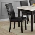 Morris Home Brinnon Brinnon Side Chair w/ Nailhead - Item Number: WB380S