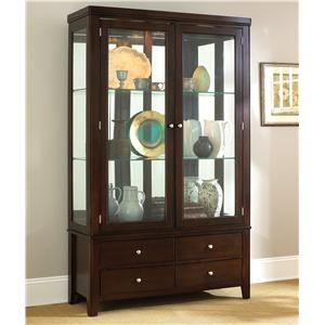 Morris Home Furnishings Wilson China Cabinet