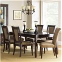 Vendor 3985 Wilson 7-Piece Dining Set - Item Number: WL500T+4xWL500S+2xWL400S