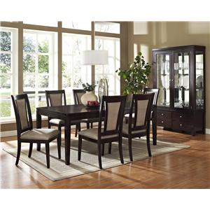 Vendor 3985 Wilson 7-Piece Dining Set