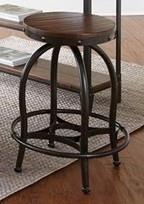 "Morris Home Furnishings Woodland Woodland 24"" Barstool - Item Number: WN100CS"