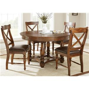 Steve Silver Wyndham 5 Piece Dining Set