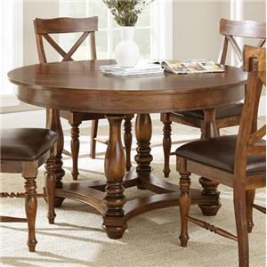 Morris Home Furnishings Wyndham Round Dining Table