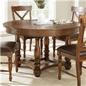 Vendor 3985 Wyndham Round Dining Table - Item Number: WD540T