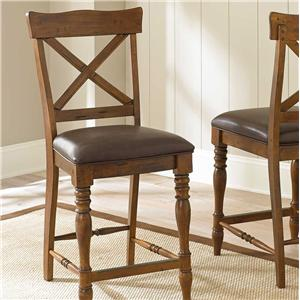 Morris Home Furnishings Wyndham Counter Chair