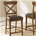 Morris Home Furnishings Wyndham Counter Chair - Item Number: WD600CC