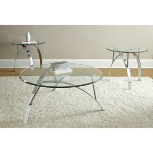 Steve Silver Xavier 3 Pack Round Table Set