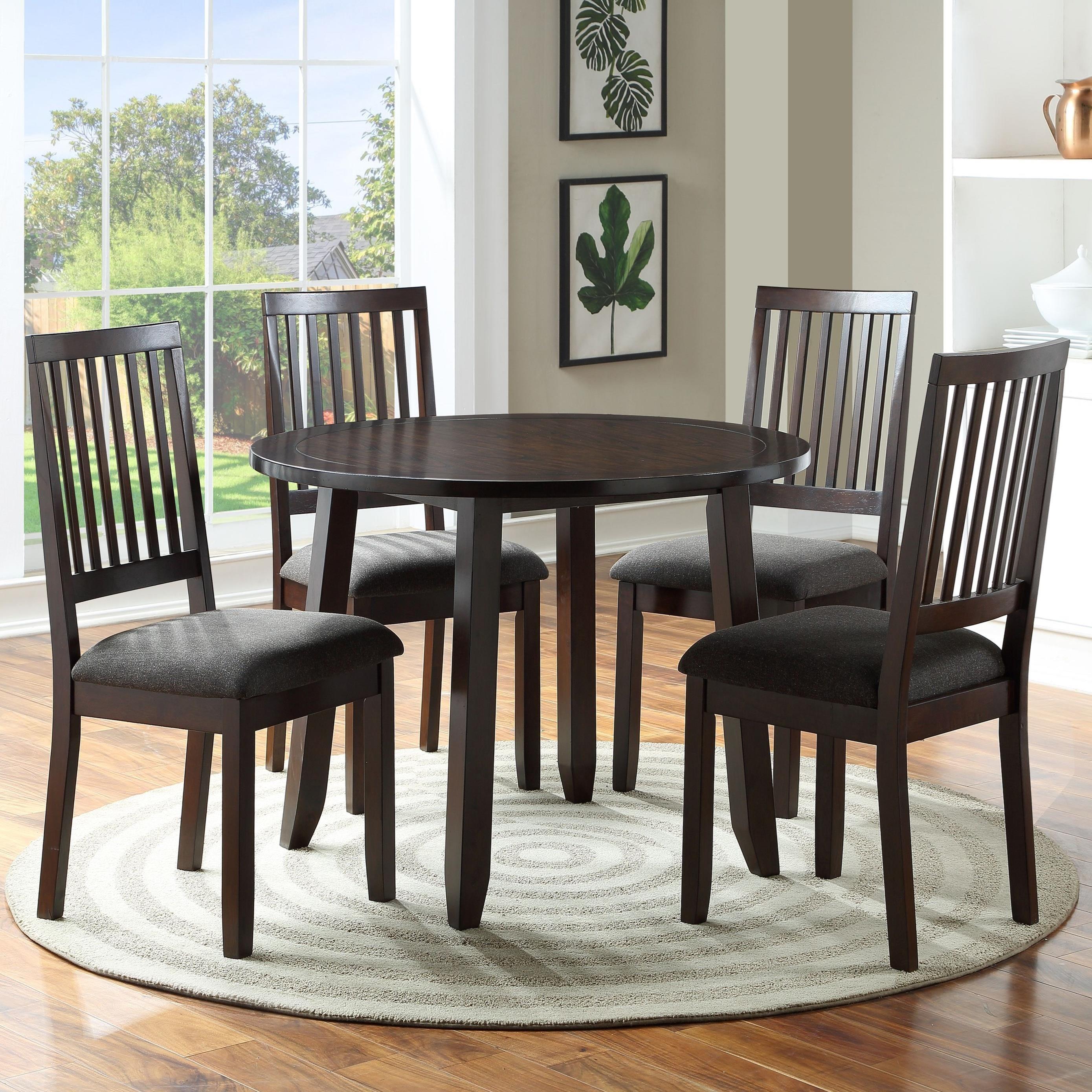 York Place York Place 5-Piece Dining Set by Steve Silver at Morris Home