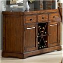 Morris Home Furnishings Zappa 2 Door Buffet Server with 3 Drawers