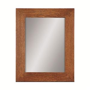 Stickley Oak Mission Classics Hanging Mirror