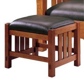 Stickley Oak Mission Classics Footstool