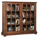 Stickley Oak Mission Classics Gustav Commemorative Bookcase - Item Number: 89-510