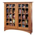 Stickley Oak Mission Classics Double Door Bookcase - Item Number: 89-704