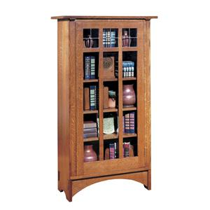 Single Door Bookcase