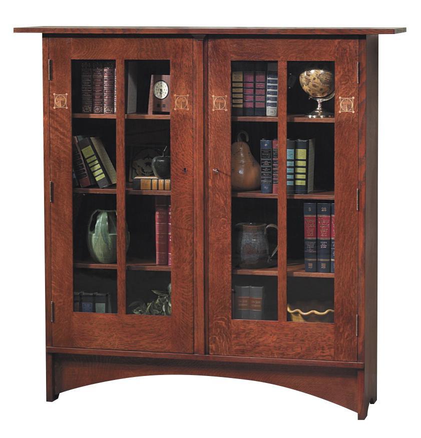 Harvey Ellis Bookcase with Inlay