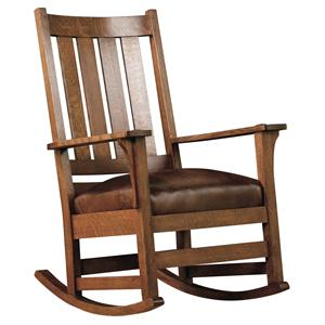 Stickley Oak Mission Classics Chapel Street Rocker