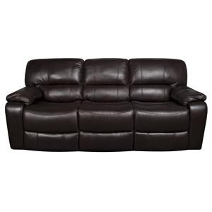 Stitch Coleman Coleman Leather-Match* Power Reclining Sofa